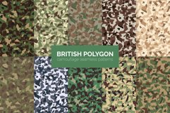 British Polygon Polygon Camouflage Product Image 1