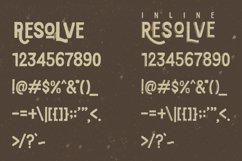 Resolve Font Product Image 4