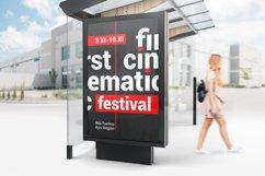 Bus Stop Lightbox Mockup Product Image 4
