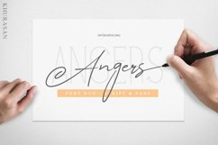 Angers Script Font Duo Product Image 1
