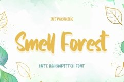 Web Font SmellForest - Cute Fonts Product Image 1