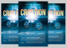 Creation Church Flyer Template Product Image 2