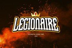 Legionaire - Esport Font Product Image 1