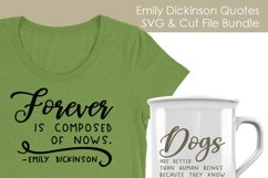 Emily Dickinson Quotes - Quote SVG and Cut Files Product Image 2