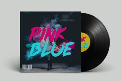 Pink Blue Font Product Image 3
