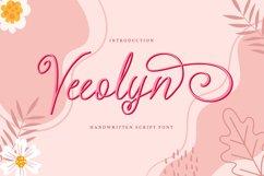 Veeolyn   Handwritten Script Font Product Image 1