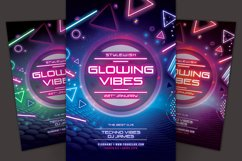 Glowing Vibes Flyer Product Image 1