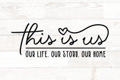 Family Sign Bundle, Family Quotes Bundle, Home Bundle svg Product Image 4