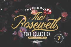 Rosewell Font Collection Product Image 1