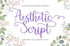 Aesthetic Script Product Image 1