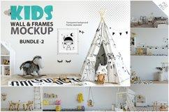 KIDS WALL & FRAMES Mockup Bundle - 2 Product Image 1