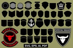 Vector patch templates Product Image 1