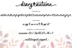 Diary Autumn Product Image 2