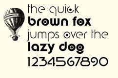 digital geometric font Product Image 4