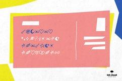 Dingbats Handwritten Symbol Script Font Kid Craft Typeface Product Image 3
