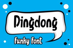 Dingdong - Funky Font Product Image 1