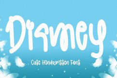 Dismey - Cute Handwritten Font Product Image 1