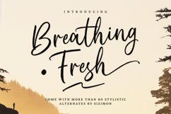 Breathing Fresh Script Product Image 1