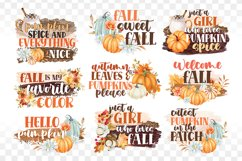 Fall Sublimation Bundle - Fall PNG Sublimation - Autumn png Product Image 1