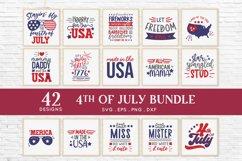 4th of july svg bundle dxf png eps - patriotic svg Product Image 2