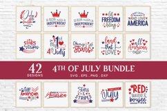 4th of july svg bundle dxf png eps - patriotic svg Product Image 3