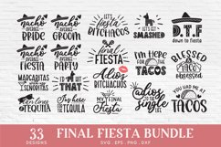 Final Fiesta svg bundle dxf png eps - Bachelorette Party Product Image 2