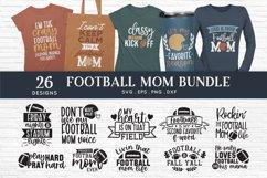 Football mom svg bundle png eps dxf - football mom life svg Product Image 1
