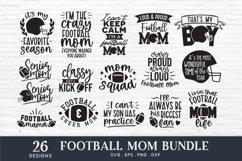 Football mom svg bundle png eps dxf - football mom life svg Product Image 2