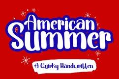 American Summer   A Fun Handwritten Font Product Image 1