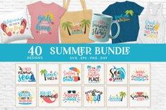 Summer svg bundle - Beach svg png eps dxf Product Image 1