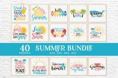 Summer svg bundle - Beach svg png eps dxf Product Image 2