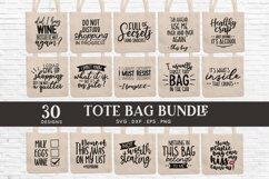 Tote Bag Quotes svg Bundle dxf eps png Product Image 1