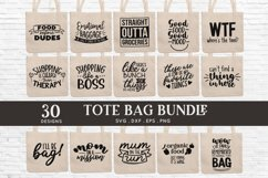 Tote Bag Quotes svg Bundle dxf eps png Product Image 2