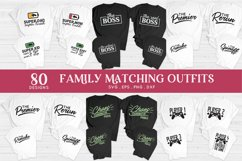 family matching outfits svg eps png dxf - family shirts svg Product Image 5