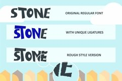 Dizzy Fence - Quirky Blocky Display Font Product Image 2