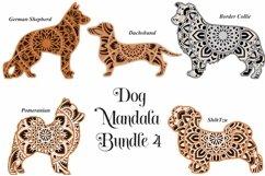 Dog Mandala Bundle Volume 4 - Five Different Breeds Product Image 1