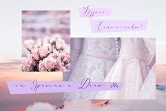 Donna Lucia feminine font Cyrillic Extras & Logo Product Image 2