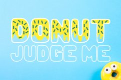 Donut Duo - A delightful doughy font duo! Product Image 6