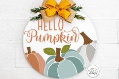 Hello Pumpkin SVG | Fall / Autumn Design Product Image 2