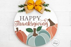Happy Thanksgiving SVG   Fall / Autumn Design Product Image 2
