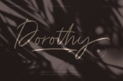 Dorothy Handwritten Script Product Image 1