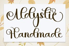 Double Absolute - Modern Script Font Product Image 4