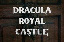 Dracula Palace - Gothic Horror Font Product Image 6
