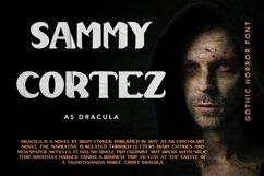 Dracula Palace - Gothic Horror Font Product Image 2