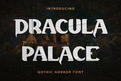 Dracula Palace - Gothic Horror Font Product Image 1