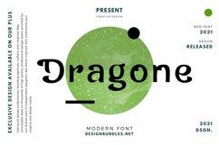 Web Font Dragone Font Product Image 1