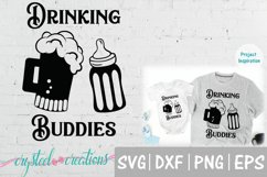 Drinking Buddies Dad and me SVG, DXF, PNG, EPS Product Image 2
