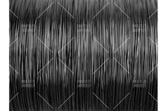 Black and white pattern of metal wire Product Image 1
