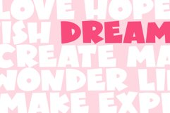 PINK - A Bold Handwritten Font Product Image 3