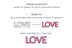 School Days Font Product Image 6